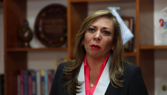María Elena Portocarrero, la actual decana, remarcó que el comité electoral del gremio es autónomo. (Foto: GEC)