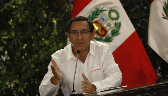 Martín Vizcarra aseguró que se debe hacer los gastos de manera austera en medio del estado de emergencia. (Foto: GEC)