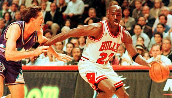 Michael Jordan ganó seis anillos con los Chicago Bulls | Foto: AFP