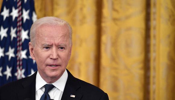 El presidente de Estados Unidos, Joe Biden, busca establecer a nivel global una tasa mínima del 15 % para las grandes empresas. (Foto: Nicholas Kamm / AFP).