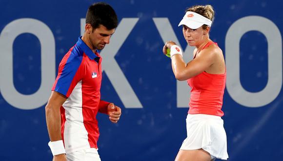 Djokovic perdió ante Zverev y pierde su oportunidad del 'Golden Slam'. (Foto: Reuters)