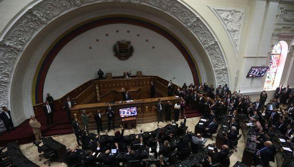 Juan Guaidó | Asamblea Nacional de Venezuela debate leyes para la transición a la democracia. (EFE).