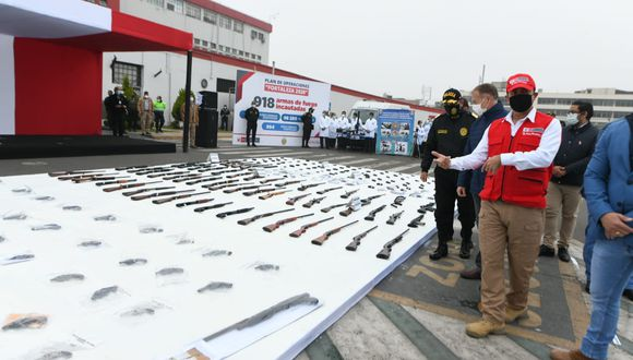 El ministro del Interior presentó los resultados del Plan Fortaleza. (Foto: Mininter)