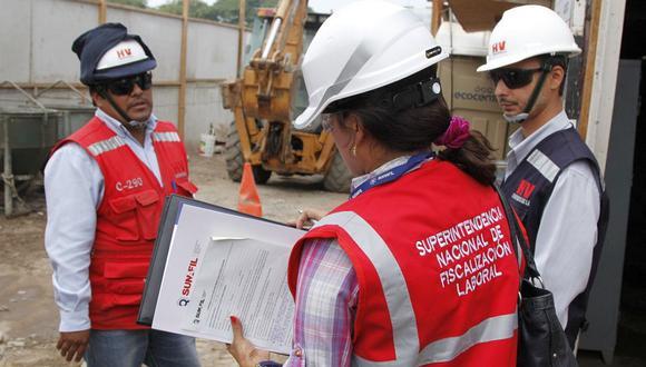 Sunafil viene supervisando que las empresas cumplan con la Ley de Seguridad y Salud en el Trabajo, así como las normativas de prevención para el COVID-19. (Foto: GEC)