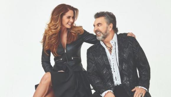Lucero y Mijares fueron una de las parejas más mediáticas y famosas de los años 90 en México, pero su amor llegó a su fin en 2011 (Foto: Mijares / Instagram)