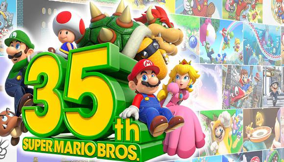 Nintendo celebró los 35 años del famoso videojuego con grandes anuncios.
