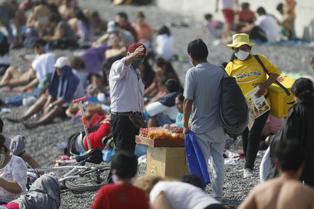 Se restringe el uso de las playas durante los fines de semana