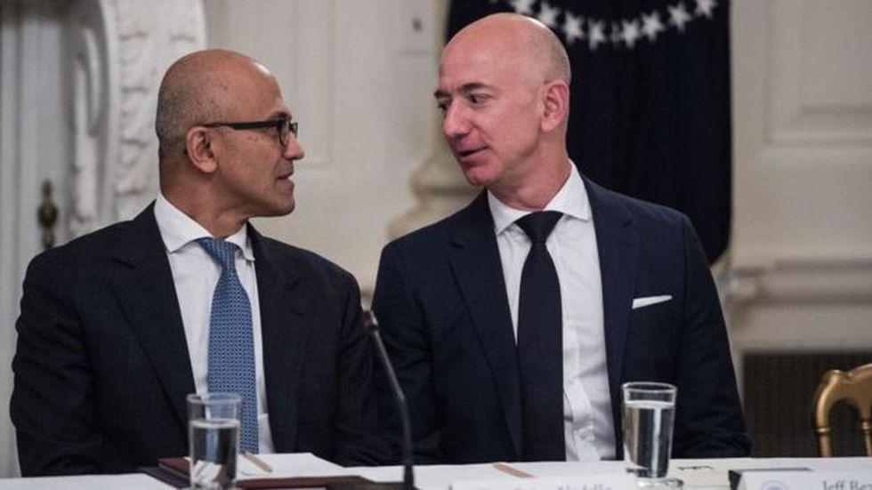 Entre Microsoft y Amazon concentran el 46% del mercado de servicios en la nube. (Foto: Getty Images)