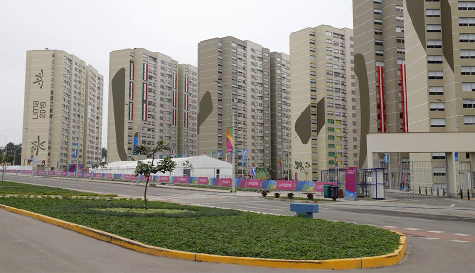 La Villa Deportiva se construyó para alojar a los deportistas que compiten en los Juegos Panamericanos Lima 2019. (Foto: Difusión)