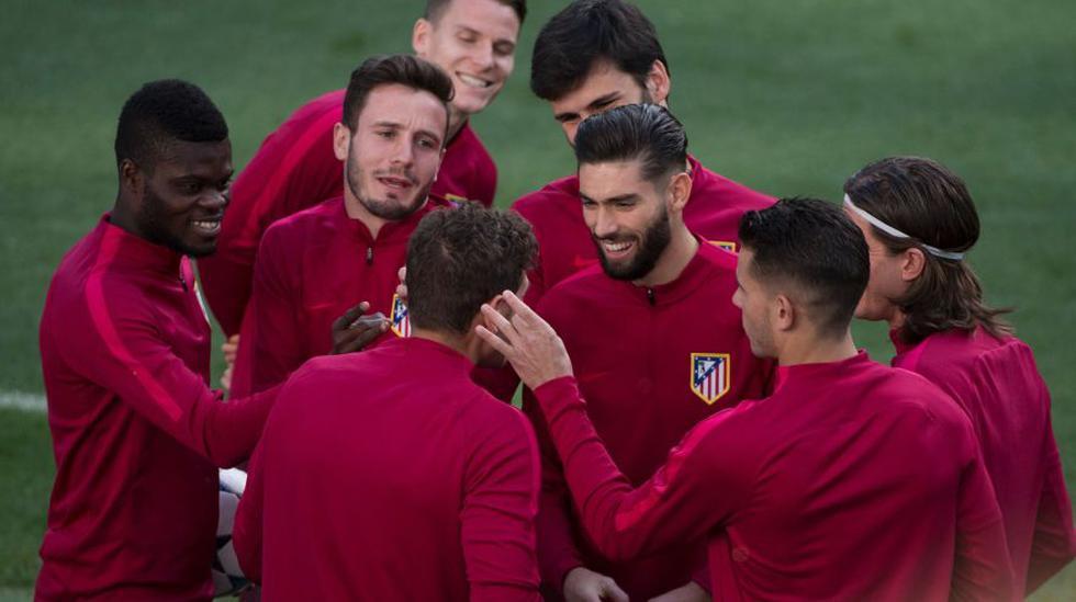 Atlético de Madrid: así se entrenaron en el Santiago Bernabéu - 12