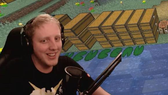 Phil Watson es un jugador de Minecraft británico de 31 años. (Foto: Phil Watson)