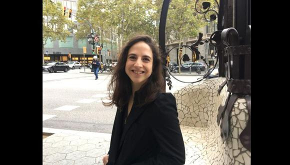"""Cristina Morales, autora de """"Lectura fácil"""" publicado por Anagrama. Acaba de ganar el Premio Nacional de Literatura de España. (Foto: María Teresa Slanzi)"""