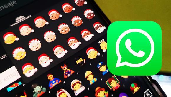 ¿Quieres tener los nuevos emojis de Navidad en WhatsApp? Usa este sensacional método. (Foto: MAG)