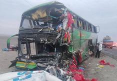 Ica: accidente vehicular dejó dos muertos y varios heridos en la Panamericana Sur