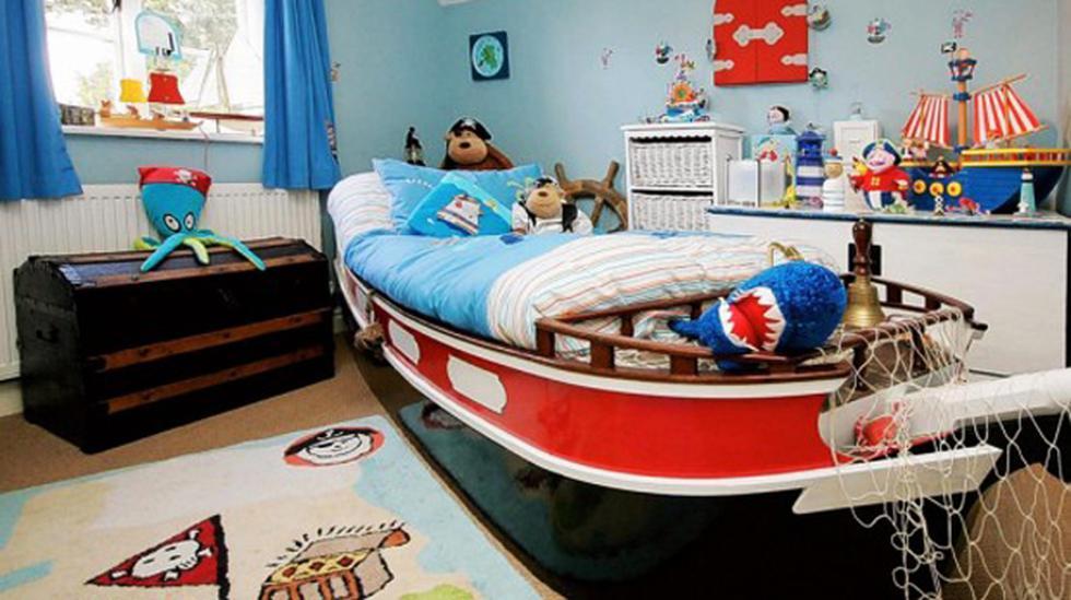 Ideas simples: ¿Cómo diseñar el cuarto de tus hijos? - 1