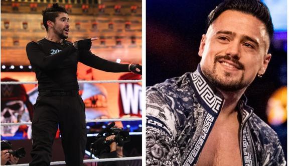 """Ángel Garza a El Comercio: """"Los envidiosos hubiesen querido luchar en WrestleMania como Bad Bunny""""   Foto: WWE"""