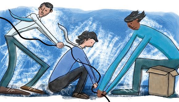 Ceses colectivos. (Ilustración: Día1/ Giovanni Tazza)