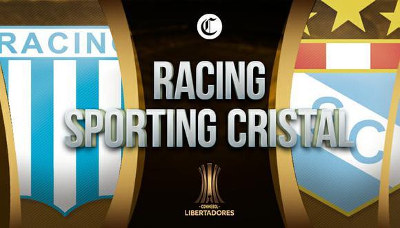 Sporting Cristal vs. Racing Club se enfrentan por la segunda fecha del grupo E de la Copa Libertadores 2021| Diseño: El Comercio