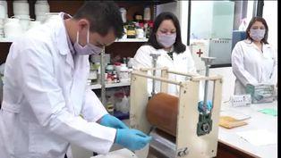 Científicos argentinos desarrollan telas antivirales para mascarillas de uso social