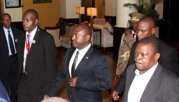 El líder del golpe de Estado en Burundi fue arrestado