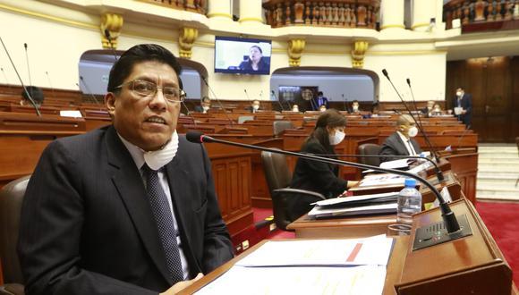 El Gabinete Ministerial, liderado por Vicente Zeballos, se presentaría ante el pleno del Parlamento entre el 11 y 15 de mayo, según informó Merino de Lama. (Foto: Congreso)