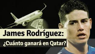 El declive de James Rodríguez: su paso por Europa y su llegada a Qatar