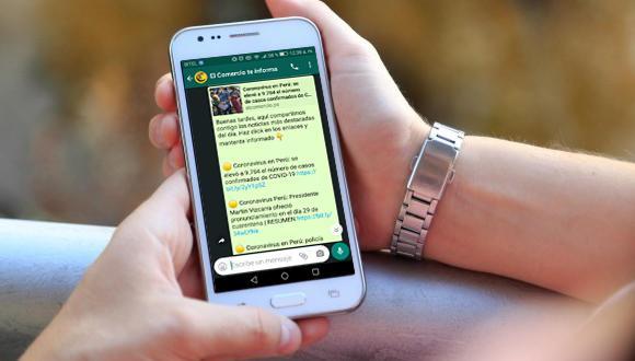 El Comercio te informa en WhatsApp