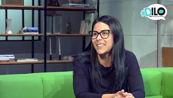 Magdyel es la primera invitada del programa #DILO con Jannina Bejarano. (Foto: El Comercio)