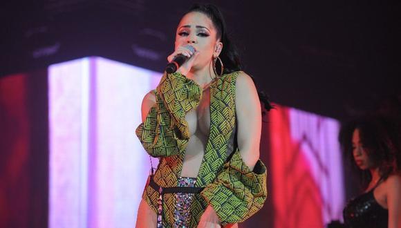 La cantante sorprendió con su versión del 'Kiki Challenge'. (Foto: AFP)