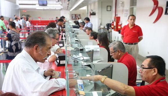 Los bancos en el Perú tienen nuevos horarios para la atención al público. La atención varía dependiendo de cada ciudad. (Foto: Difusión)