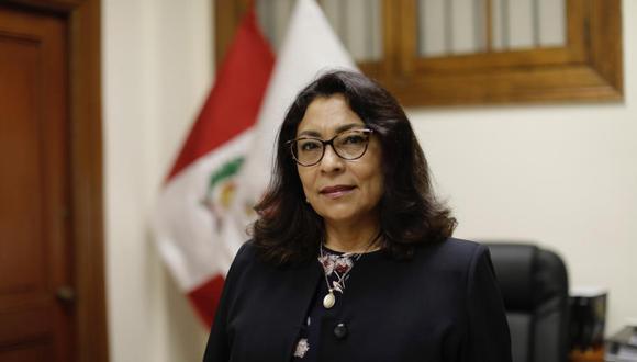 Violeta Bermúdez Valdivia (Lima, 1961), quinta mujer en ocupar la PCM, se define como una liberal igualitaria. (Foto: Anthony Niño de Guzmán / GEC)