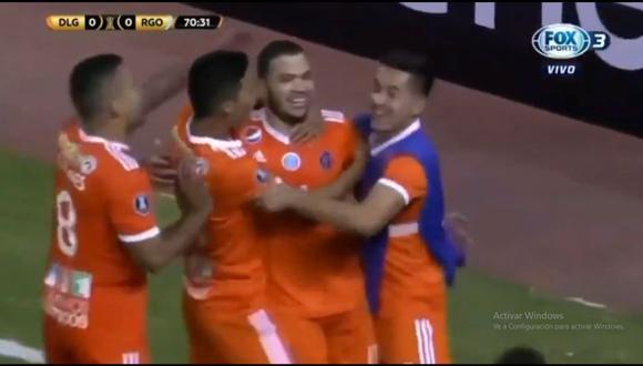 Juan Carlos Azócar apareció en el Real Garcilaso vs. La Guaira por la primera fase de la Copa Libertadores (Foto: captura de pantalla)