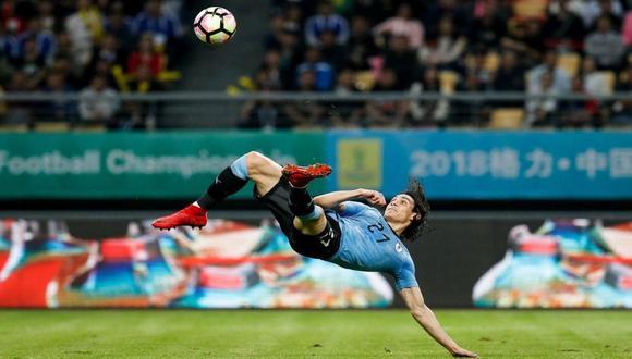 ¿Chalaca o chilena? ¿Cómo realmente se debería decirle a esta impresionante jugada? (Foto: AFP)
