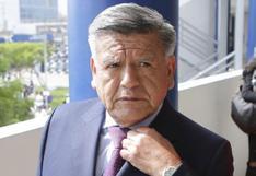 """Elecciones 2021: César Acuña invoca al JNE """"a que no excluya a ningún candidato"""""""