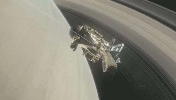 La sonda Cassini de la NASA ingresa a los anillos de Saturno