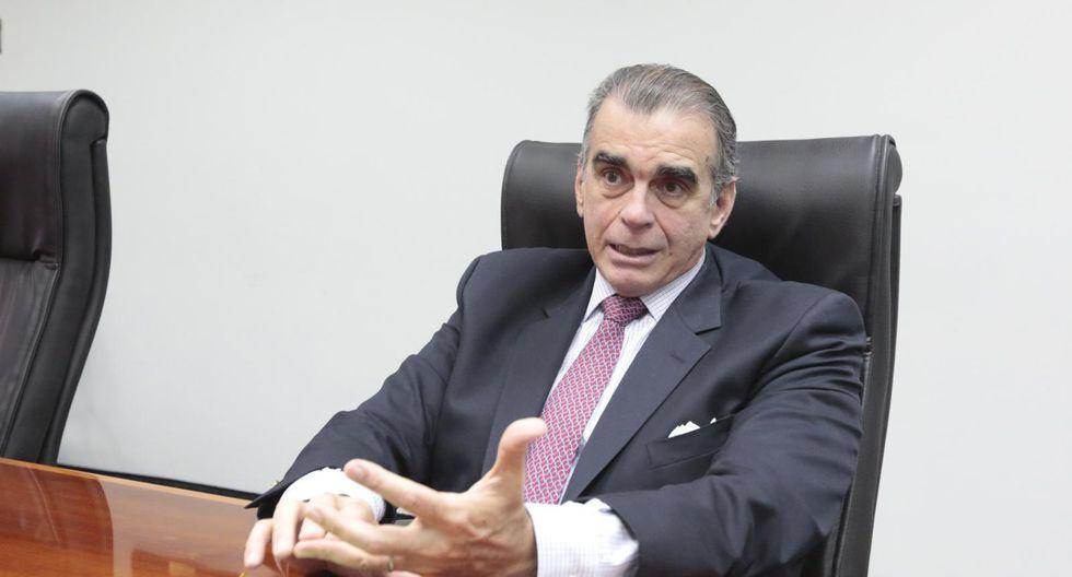 Pedro Olaechea lamentó que el TC declare infundada la demanda competencial que presentó contra el Poder Ejecutivo por la disolución del Congreso. (Foto: GEC)