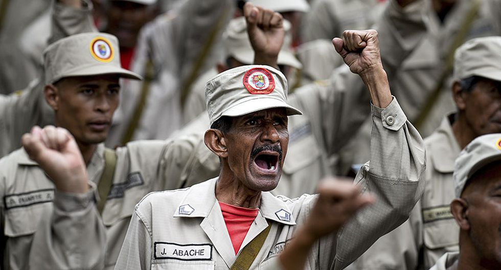 El medio millón de civiles armados de Nicolás Maduro [FOTOS] - 4