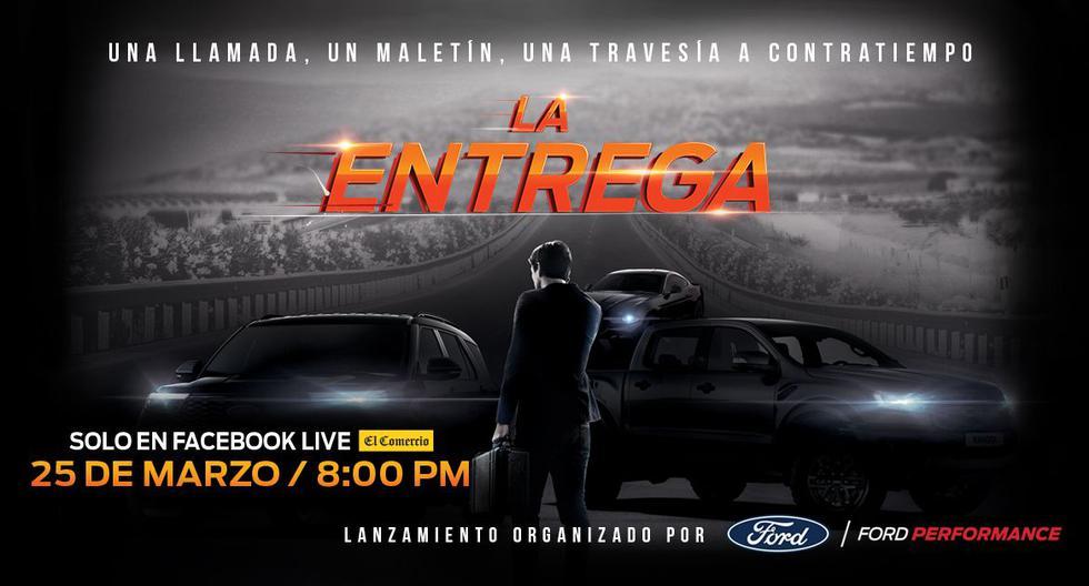 """Desde las 8:00 p.m. de este jueves 25 de marzo podrás conocer EN VIVO los detalles de """"La Entrega"""", el evento en el que Ford presentará sus nuevos modelos en el Perú."""