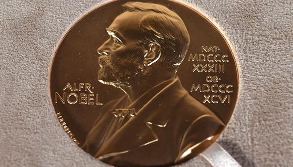 Medalla del premio Nobel. (Foto: Angela Weiss / POOL / AFP)