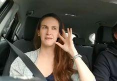 Emilia Drago logra que su esposo se rinda al #ThaliaChallenge | VIDEO