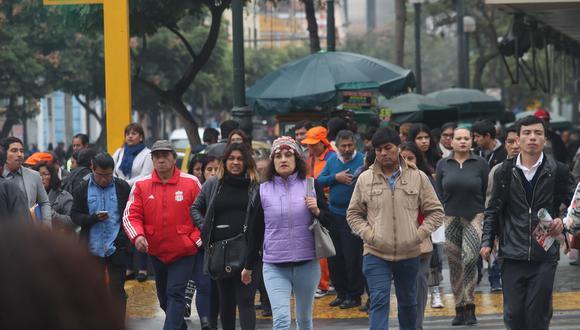 En Lima Oeste, la temperatura máxima llegaría a 18°C, mientras que la mínima sería de 15°C. (FOTO:  DANTE PIAGGIO D / GEC)