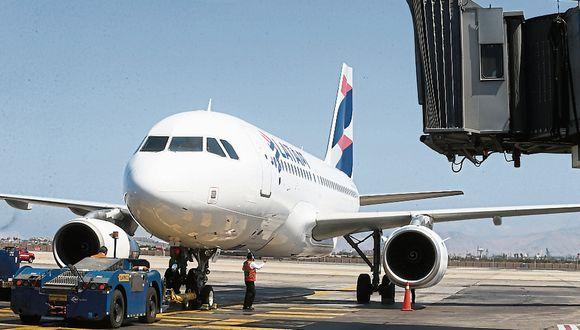 Las empresas aéreas deberán enviar un correo electrónico al MTC. (Foto: GEC)