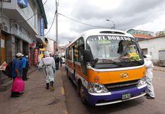 Coronavirus en Perú: municipios coordinan distribución del subsidio de transporte urbano