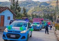 Apurímac: madres del distrito de San Jerónimo fueron homenajeadas con pasacalle