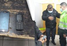 Cajamarca: suboficial de la PNP intentó ingresar a penal con dos teléfonos celulares | VIDEO