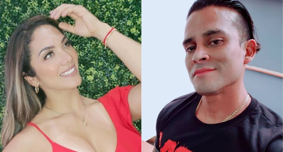 Isabel Acevedo y Christian Domínguez (Foto: Instagram)