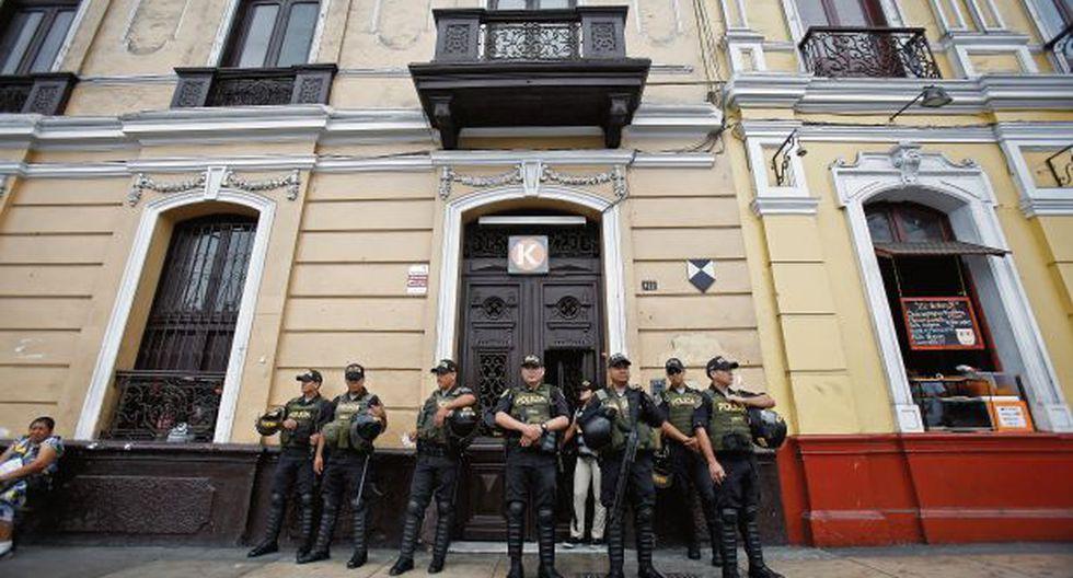 En una diligencia que duró más de 24 horas, la fiscalía ejecutó la semana pasada una orden de allanamiento e incautación en el local de FP. (Foto: César Grados/ GEC)
