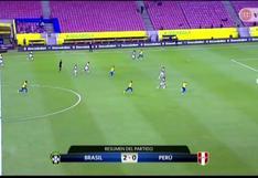 Perú vs. Brasil: resultado, goles y resumen del partido de las Eliminatorias Qatar 2022 [VIDEO]