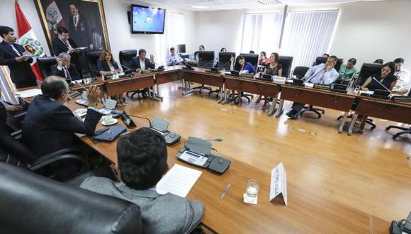 Janet Sánchez (Peruanos por el Kambio) asumió la presidencia de la Comisión de Ética a mediados de mayo del 2018. (Foto: Congreso de la República)