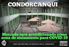 Amazonas: mercado será convertido en zona de aislamiento para casos sospechosos de COVID-19